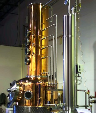 image of a vodka distillery